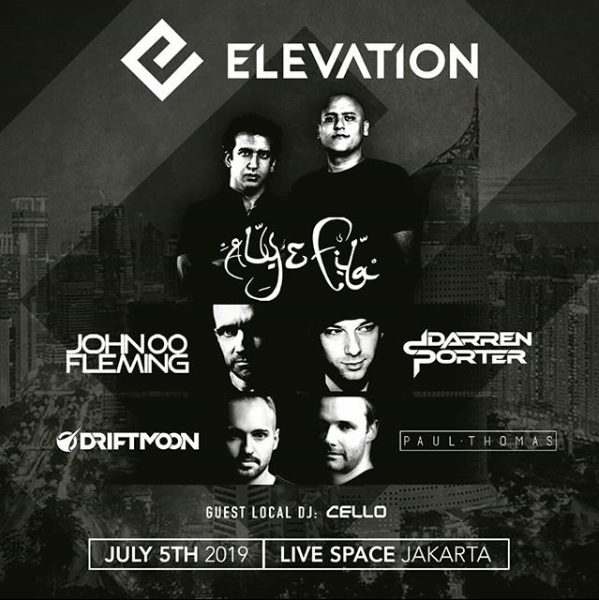 Elevation Dance Music Festival event poster